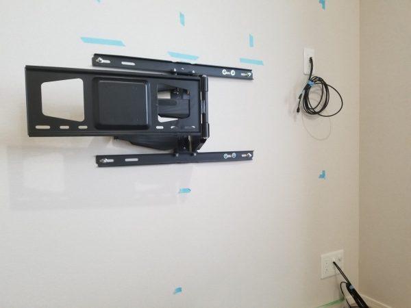 補強後壁紙補修作業