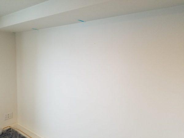 強化石膏ボード壁の写真
