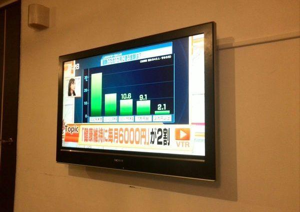 テレビ壁掛け工事 コンクリート壁 東京都町田市のサムネイル