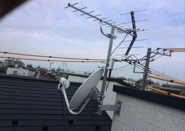 アンテナ工事東京都 費用のサムネイル