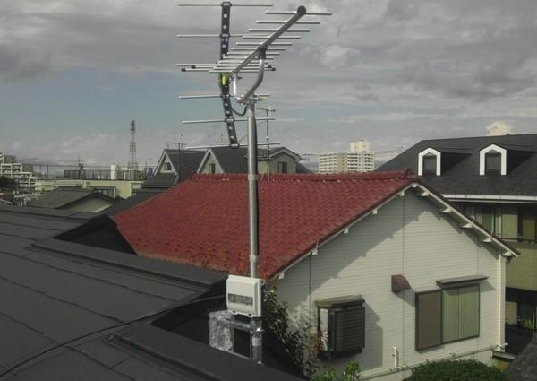地デジアンテナ工事 神奈川県 川崎市のサムネイル