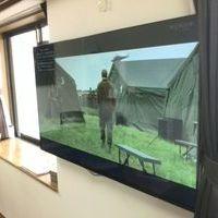 49インチLG テレビ壁掛け工事 神奈川県港南区にて  のサムネイル