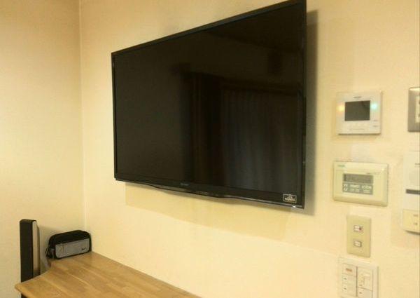 神奈川県藤沢市 テレビ壁掛け工事 42インチ 壁掛けテレビ取り外しのサムネイル