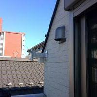 地デジアンテナ工事 東京都大田区にて 壁面への設置のサムネイル