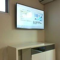神奈川県大和市 55インチテレビ壁掛け工事 配線隠蔽 新築のサムネイル