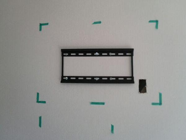 24型~32型 テレビ壁掛け工事(ボード壁・GL・コンクリート壁)