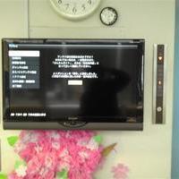 42インチ液晶TV壁掛け コンクリート壁のサムネイル