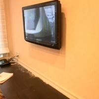 40インチテレビ壁掛け工事  横浜市のサムネイル