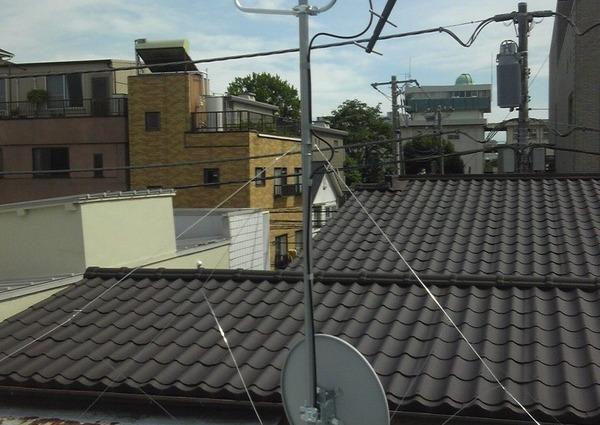 地デジBS/CSアンテナ工事 狛江市のサムネイル