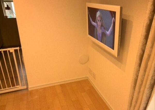 32インチテレビ壁取り付け費用 東京都江戸川区のサムネイル