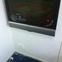 32インチTV壁掛け工事 東京都江東区のサムネイル