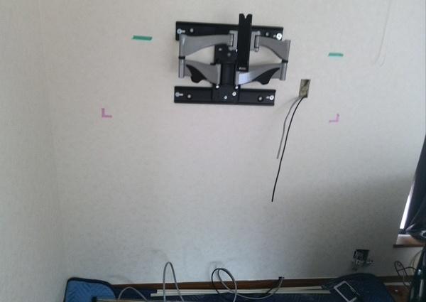 47テレビ壁掛け工事東京都杉並区のサムネイル