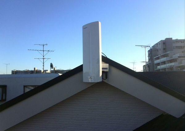 地デジBS/CSアンテナ/ブースター設置 神奈川県大和市にて のサムネイル