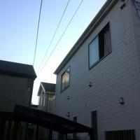東京都小金井市にて 地デジアンテナ工事 デザインアンテナ UAH810ブラックブラウンのサムネイル