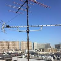 地デジアンテナ交換工事 東京都大田区にてのサムネイル