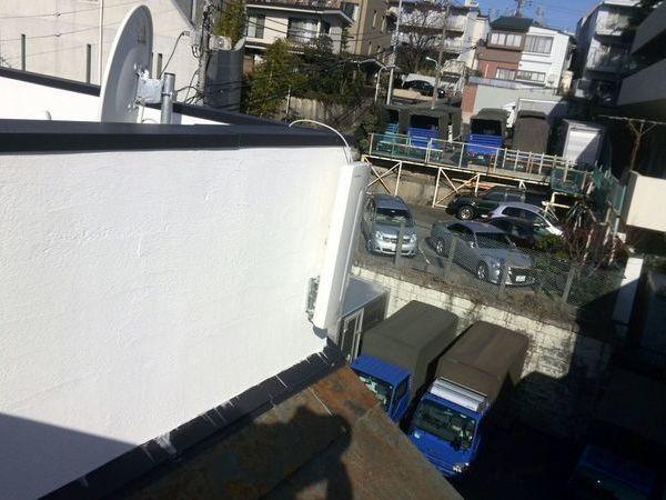 新築戸建て地デジ/BS/CSアンテナブースター工事 東京都渋谷区にて