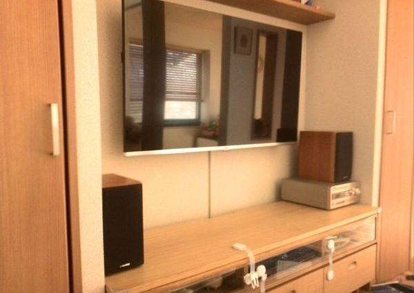 東京都調布市にて LG50インチTV壁掛け工事 フルモーションのサムネイル
