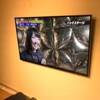 横浜市にて 55インチテレビ壁掛け工事 隠蔽配線のサムネイル