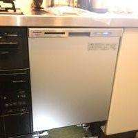 東京都にてビルトイン食洗機  マンション新規設置  のサムネイル