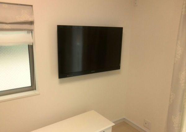 テレビ壁掛け工事 東京都杉並区にて のサムネイル