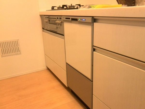 ビルトイン食洗機新規設置 東京都大田区新築戸建てにて