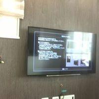東京都大田区にて 55インチテレビ壁掛け工事 配線隠蔽 補強済み壁のサムネイル