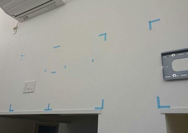 埼玉県さいたま市店舗にて 50インチテレビ壁掛け工事 のサムネイル