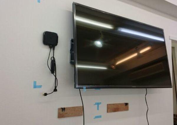 壁掛けテレビ 東京都文京区にて TH-49D305 サウンドバーSC-HTB175 のサムネイル