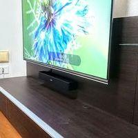 東京都町田市マンションにて 55型LG テレビ壁掛け工事 BOSE サウンドバー取り付けのサムネイル