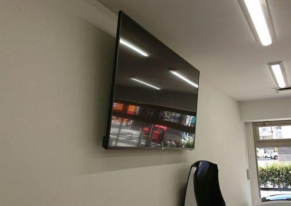 横浜市 リハビリ施設にて 壁掛けテレビ 3台取り付けのサムネイル