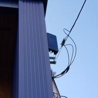 神奈川県相模原市にて 55型 BRAVIA 壁掛け 配線隠蔽工事 アンテナ工事のサムネイル