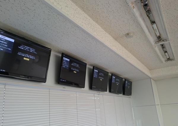 東京都江東区 会社ビルにて壁掛けテレビ工事のサムネイル
