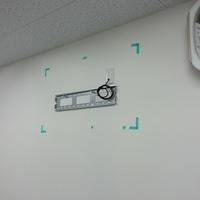 東京都 会社ビルにて 壁かけテレビ工事 床下配線のサムネイル