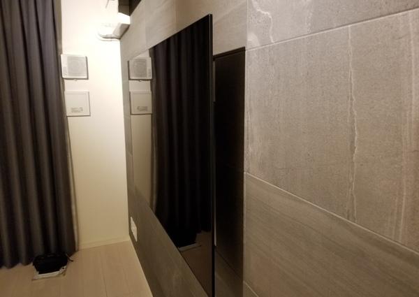 東京都葛飾区マンションにて 壁掛けテレビ 電源増設工事のサムネイル