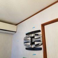 神奈川県横浜市にて 壁掛けテレビ工事のサムネイル