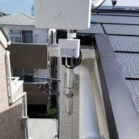 地デジ/BS/CSアンテナ工事 壁掛けテレビと同日設置のサムネイル
