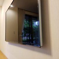 東京都世田谷区にて 60型 壁掛けテレビ 配線隠蔽のサムネイル