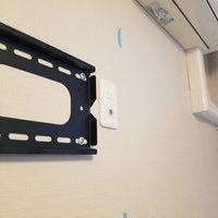 東京都港区にて 32型 壁掛けテレビ工事のサムネイル