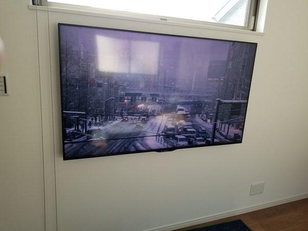 壁掛けテレビ工事 壁面補強しなくても壁掛けする方法