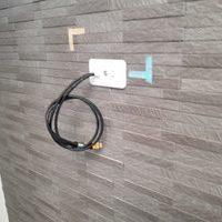 神奈川県横浜市にて エコカラット壁 55型壁掛けテレビ工事のサムネイル