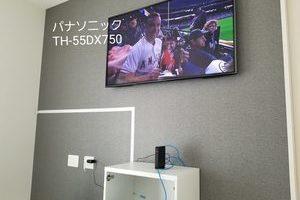 千葉県 戸建てにて 壁掛けテレビ工事