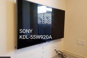 東京都 マンションにて 壁掛けテレビ工事