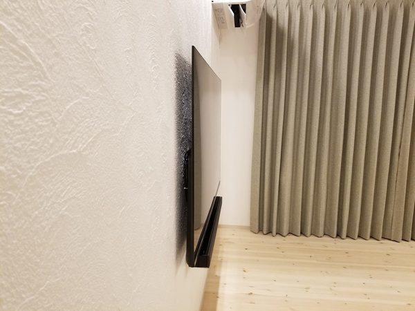 千葉県市川市にて 壁掛けテレビ