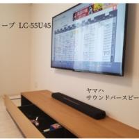 神奈川県川崎市一戸建てにて 壁掛けテレビと隠蔽配線工事のサムネイル