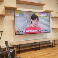 東京都杉並区にて SONY  KJ-65X9500H壁掛けテレビ工事のサムネイル